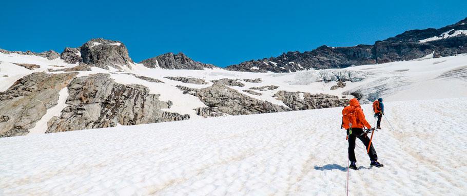 Hochtouren Kurs - Bergsteigen für Anfänger