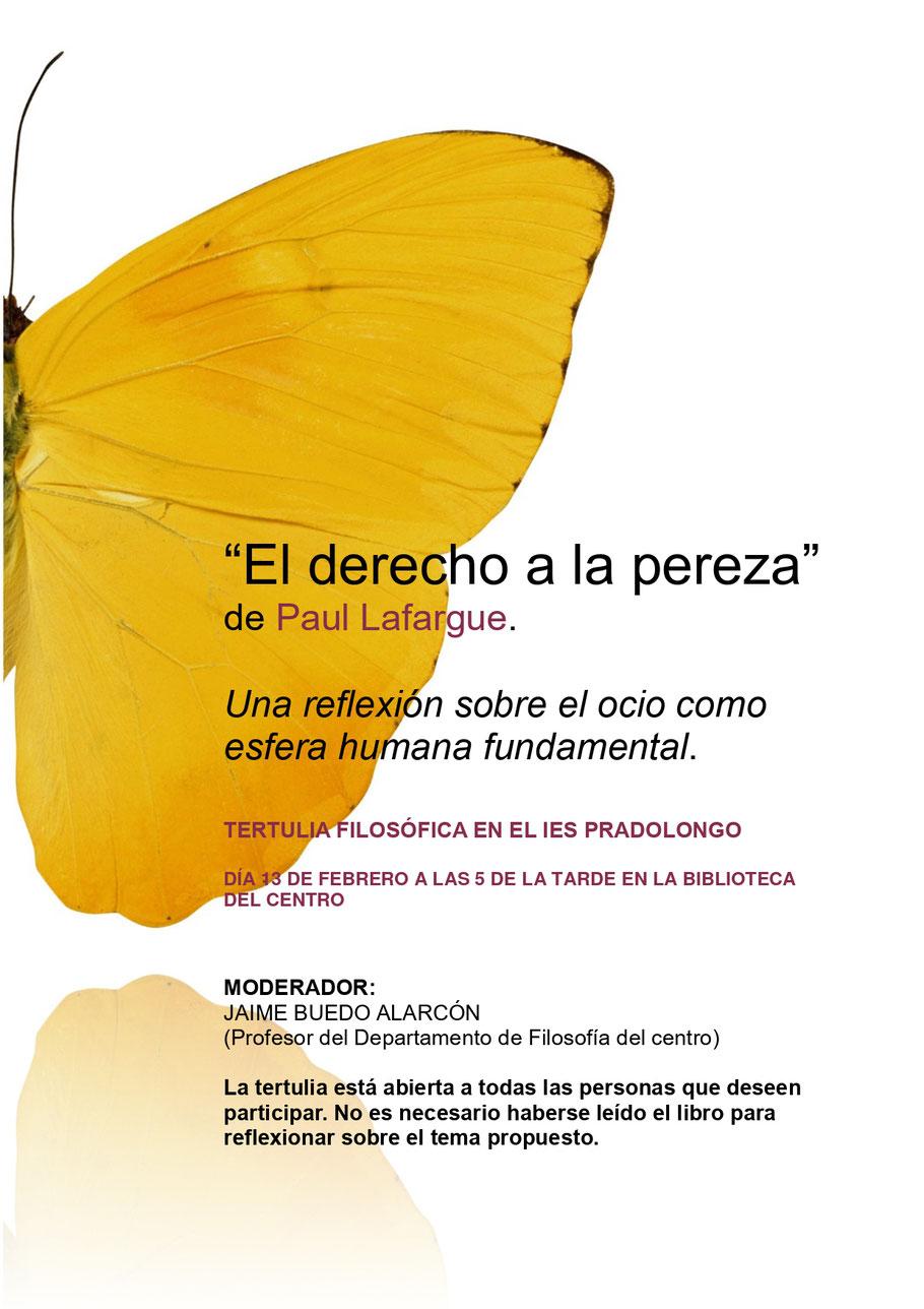 Segunda tertulia filosófica IES Pradolongo