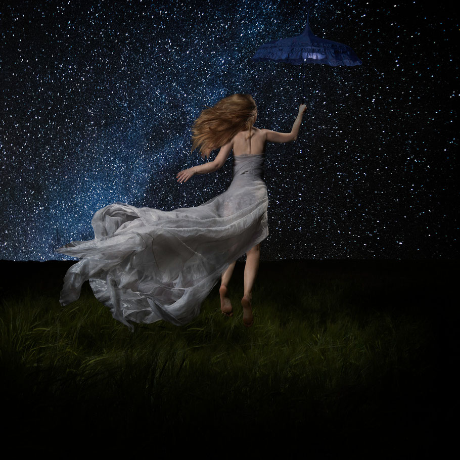 ROVA Design - Fly away with me in the night - Surreal Photography