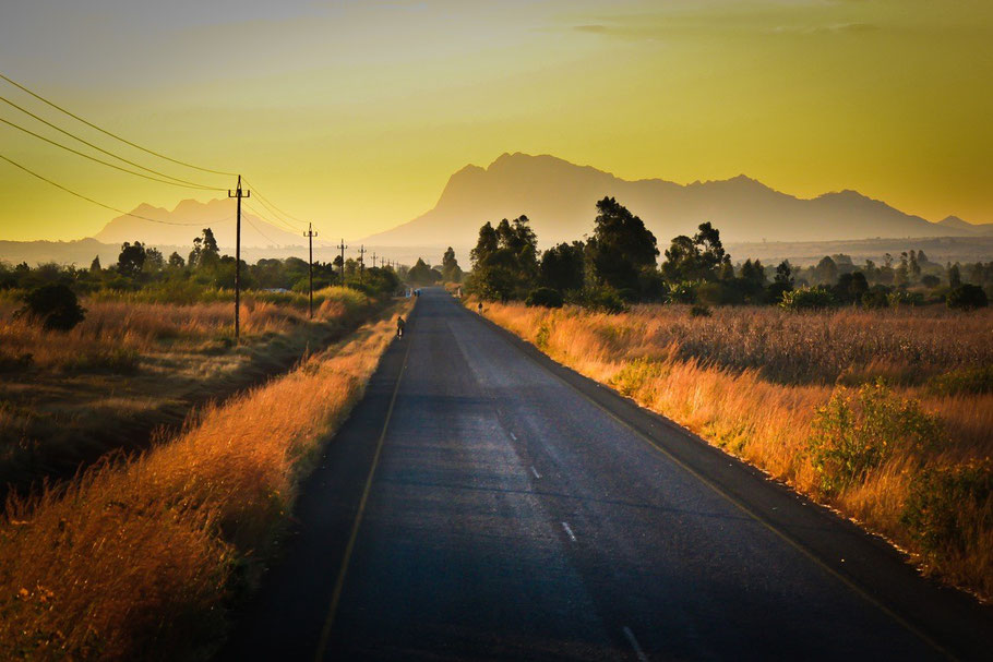Africa road to heaven