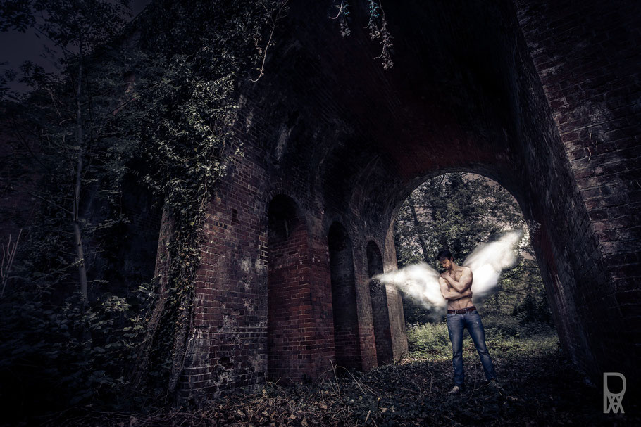 ROVA Design - evil angel - Surreal Photography