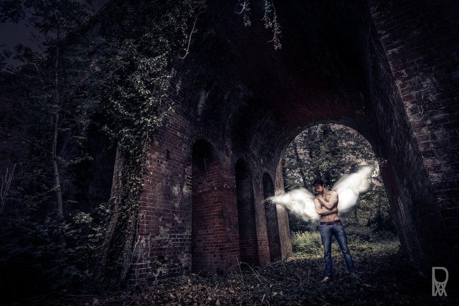 ROVA Design - evil angel - Surreal Photography