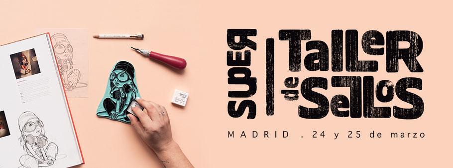 Supertaller de Sellos por Sami Garra en Madrid