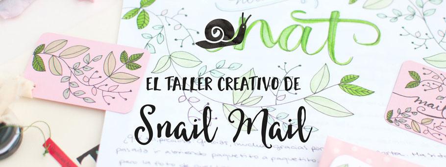 Taller Creativo de Snail Mail by Sami Garra