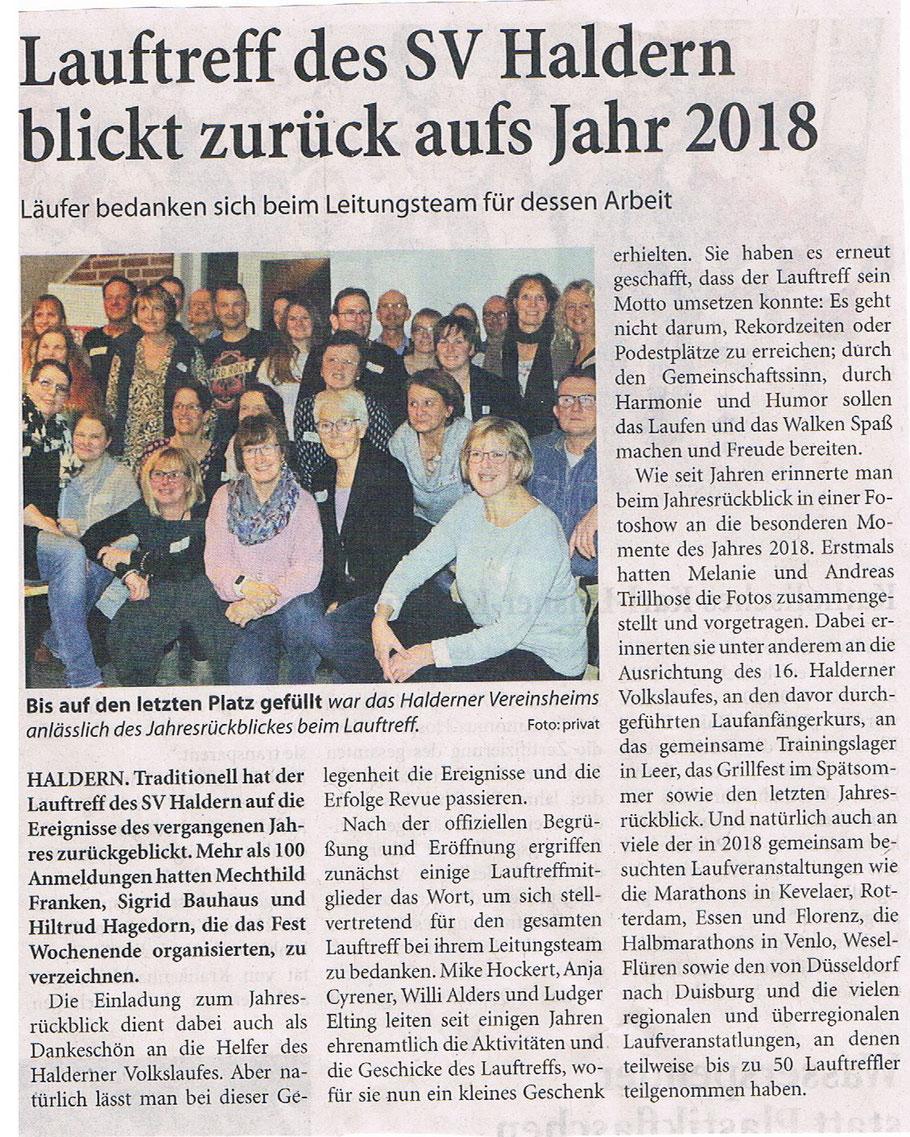 Niederrhein Nachrichten 19.01.19