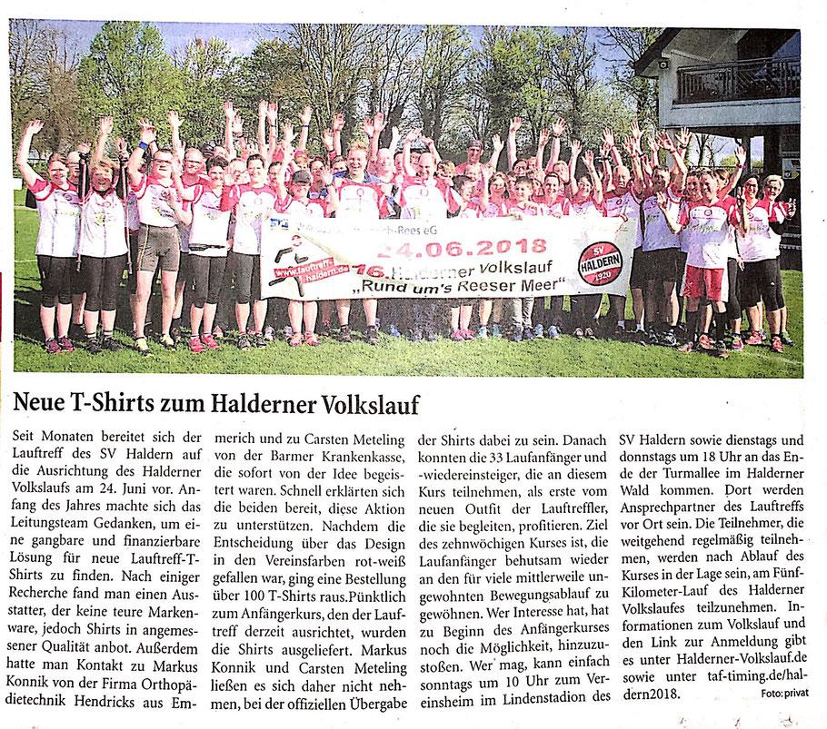 Niedrrhein Nachrichten 21.04.2018