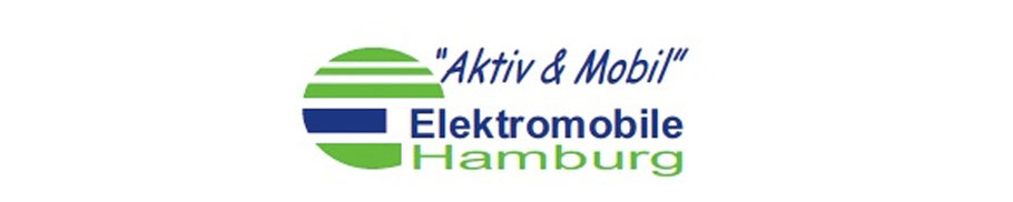 Firmenlogo des regionalen Fachhandels für Hamburg und Schleswig-Holstein, Elektromobile Hamburg - Adresse: Röpckes Mühle 2 in 25436 Uetersen