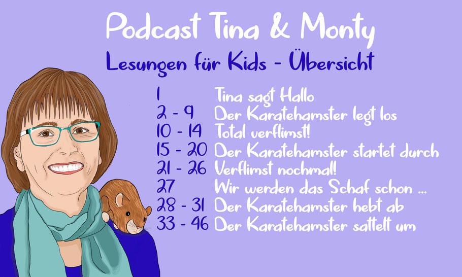 Podcast Tina & Monty Übersicht