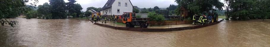 Hochwasser Mai /Juni 2016