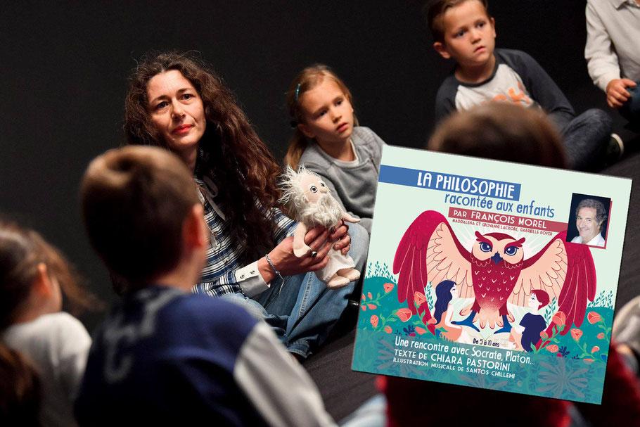 Chiara Pastorini. François Morel. Philosophie pour enfants. Les petites lumières. Philo enfants.