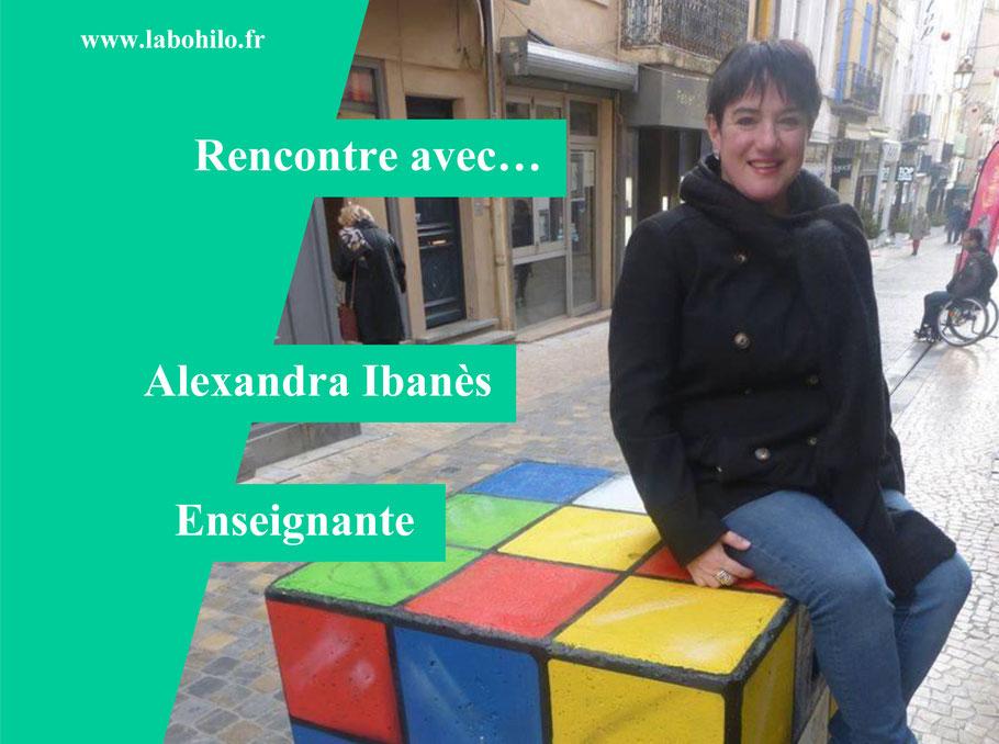 Alexandra Ibanès. Philosophie pour enfants en classe