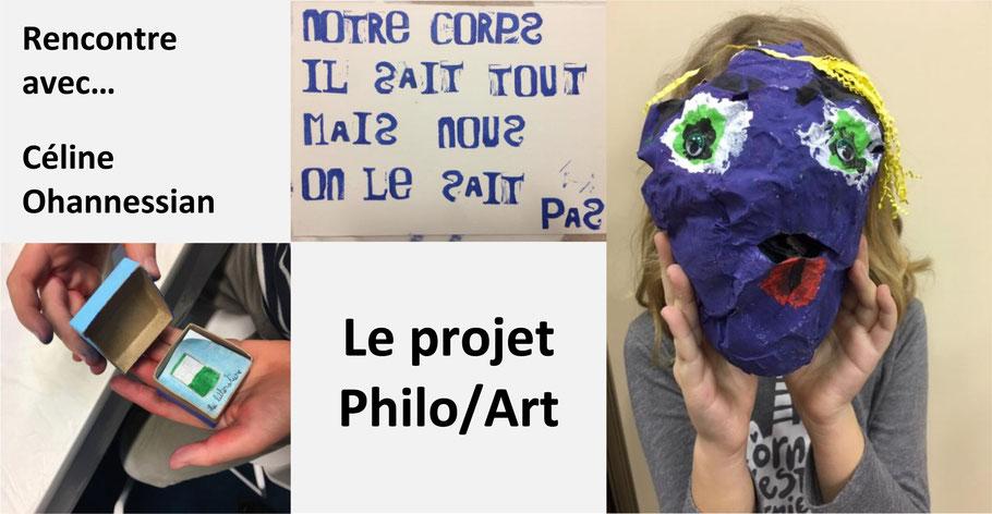 Céline Ohannessian. Philosophie pour enfants. Philo et art.