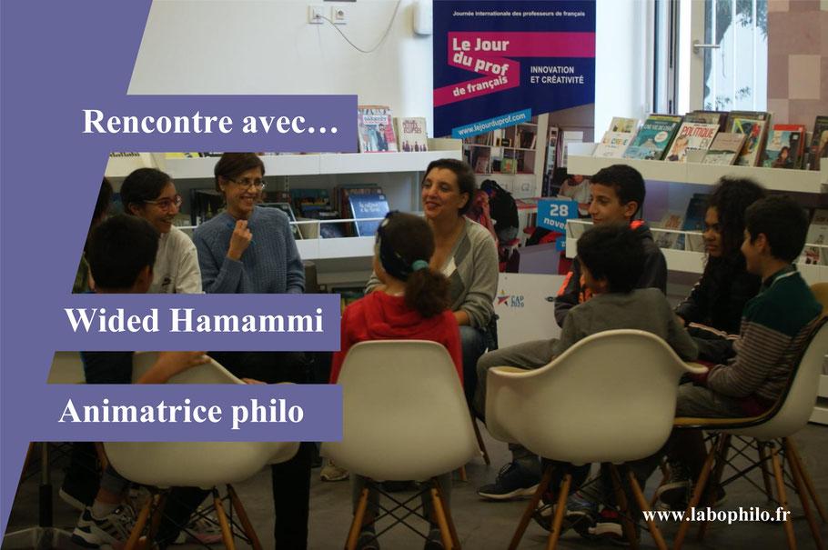 Philosophie pour enfants. Wided Hammami