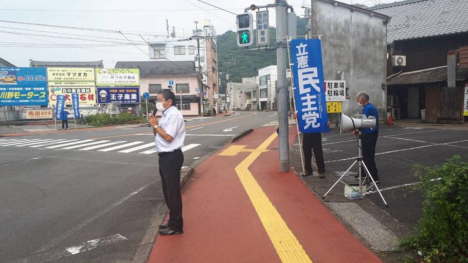 吉川はじめは生命と健康、そして暮らしを最優先すべきと訴えています