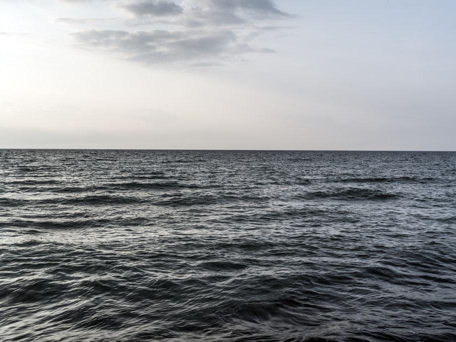 Strand, Meer  in Ahrenshoop – Darf – Fischland  als Farbphoto