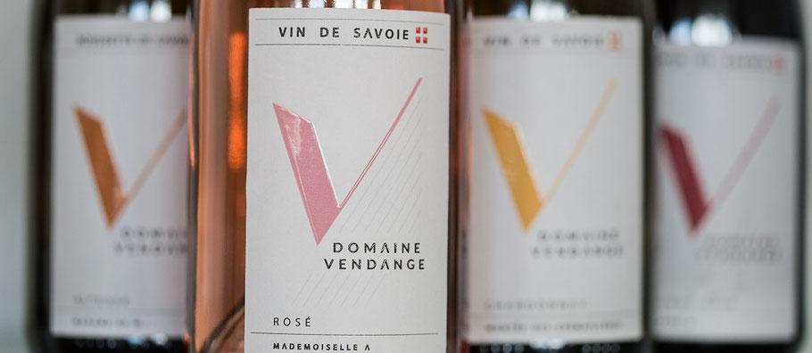 Domaine Vendange Vins de Savoie - gamme