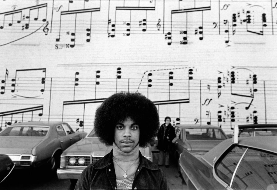 Photo: Prince, Music Sheet by Robert Whitman