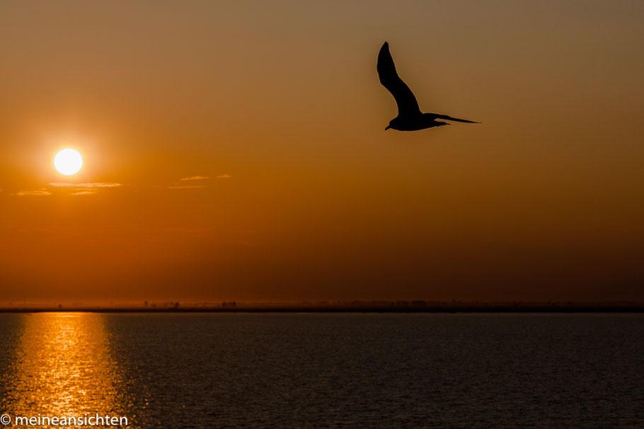 Sonnenuntergang im Schwarzen Meer