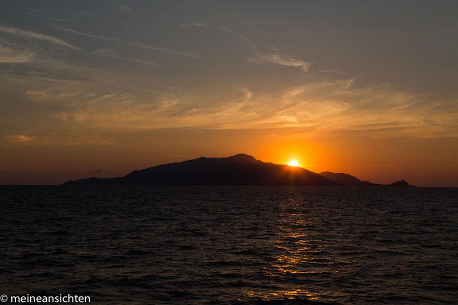 Sonnenuntergang über Ischia