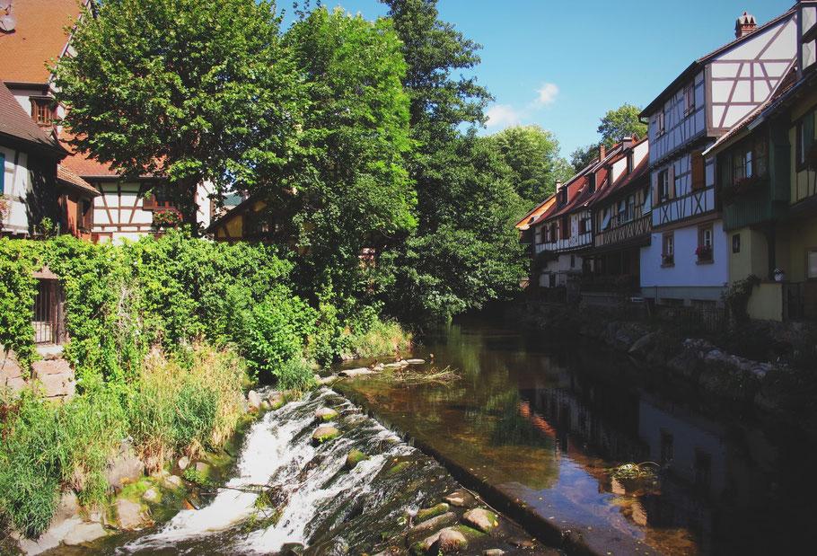 kaysersberg alsace france bigousteppes villages maisons bois