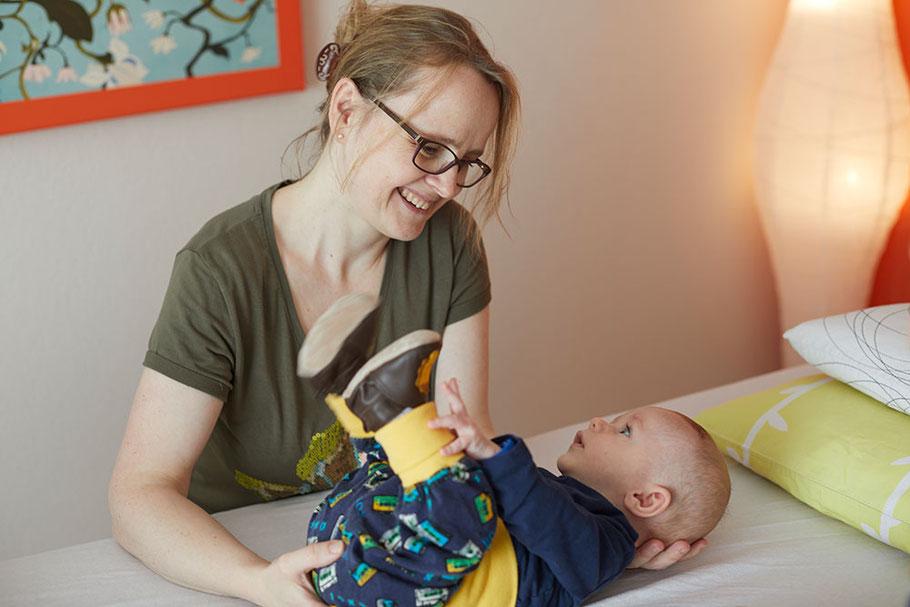 Craniosacral Therapie bei Tanja Fögele in Lenzburg für Erwachsene und Kinder