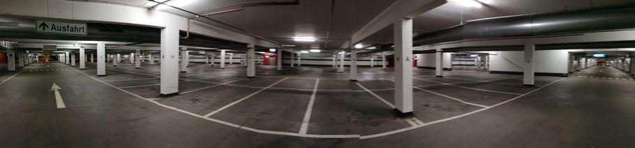 Parken Flughafen Luxemburg