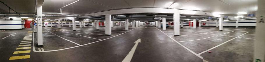 Parking aéroport de Luxembourg