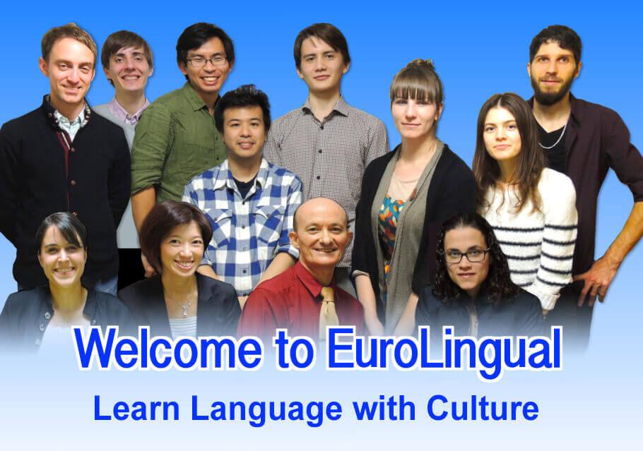 大阪・梅田 ヨーロッパ語のEuroLingualへようこそ!