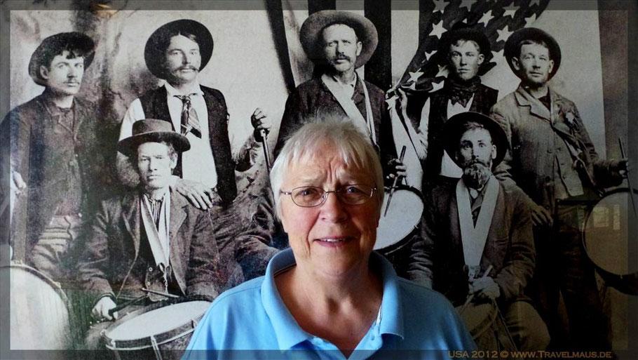 """Dagmar bei den """"alten Cowboys"""""""