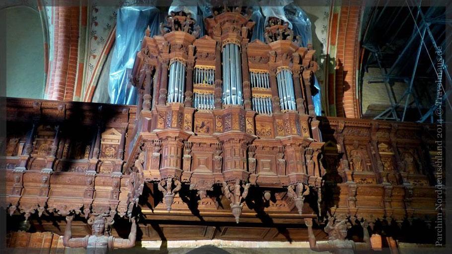 Orgel, Marienkirche, Parchim