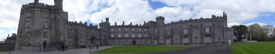 Kilkenny Castle (Eintritt Senioren 5 €)  [ 180° Aufnahme © Travelmaus.de ]