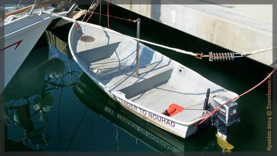 Unsere (Y...)Jacht im Hafen von Denia  ;-)!!!