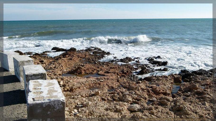 Küste Les Rotes nahe Denia