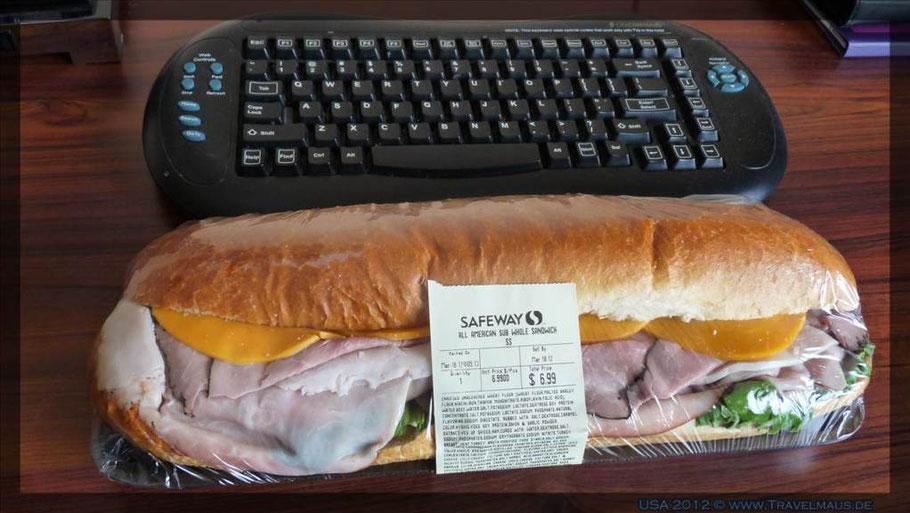 Sandwich für Travelmäuse