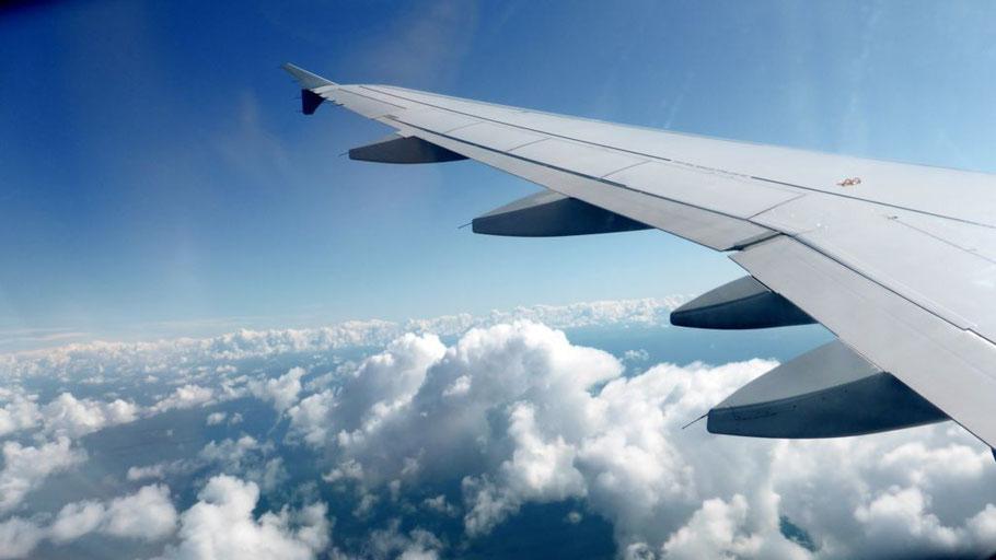 Hinflug Düsseldorf-Dublin 1,5 Stunden am 27.4.2015 mit Germanwings