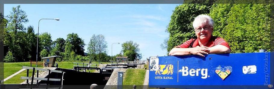11 Schleusen in Berg/Götakanal