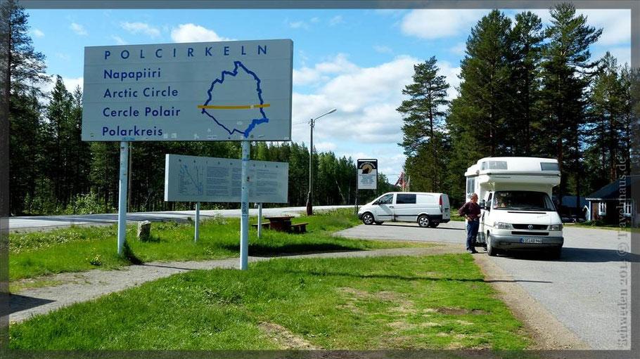 Polarkreis überquert