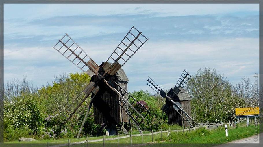 Öland. die Insel der Windmühlen