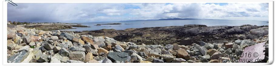 Connemara NP - Küstenregion