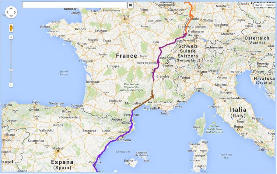...insgesamt gefahrene Kilometer Pepe-Bad Sobernheim 1800 km