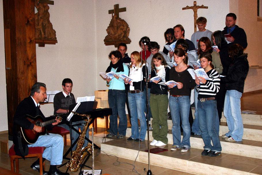 Jugendgottesdienst zum 25-jährigen Jubiläum der KLJB Titisee - 2008