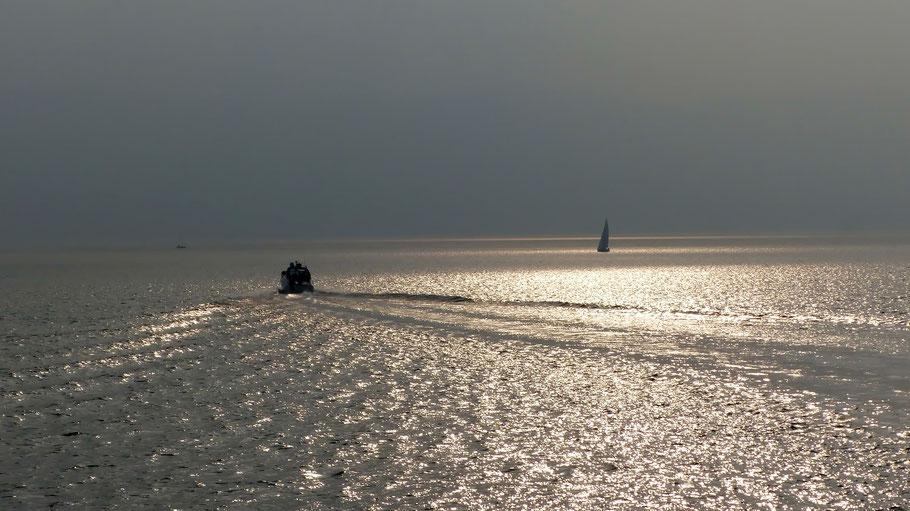 Lago Maggiore im Nachmittagslicht