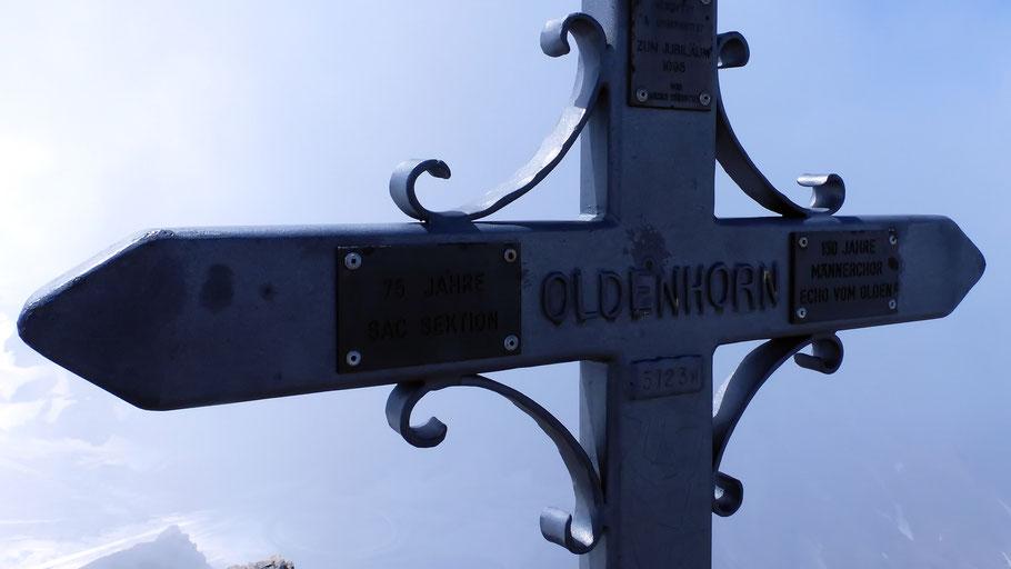 Oldenhorn-Gipfelkreuz