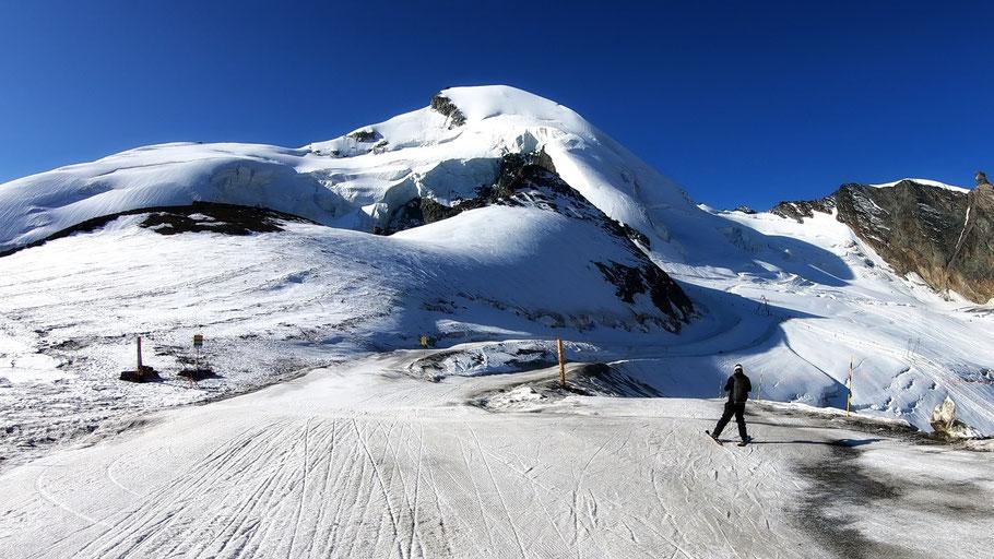 Allalinhorn-Gipfel - 4027 M
