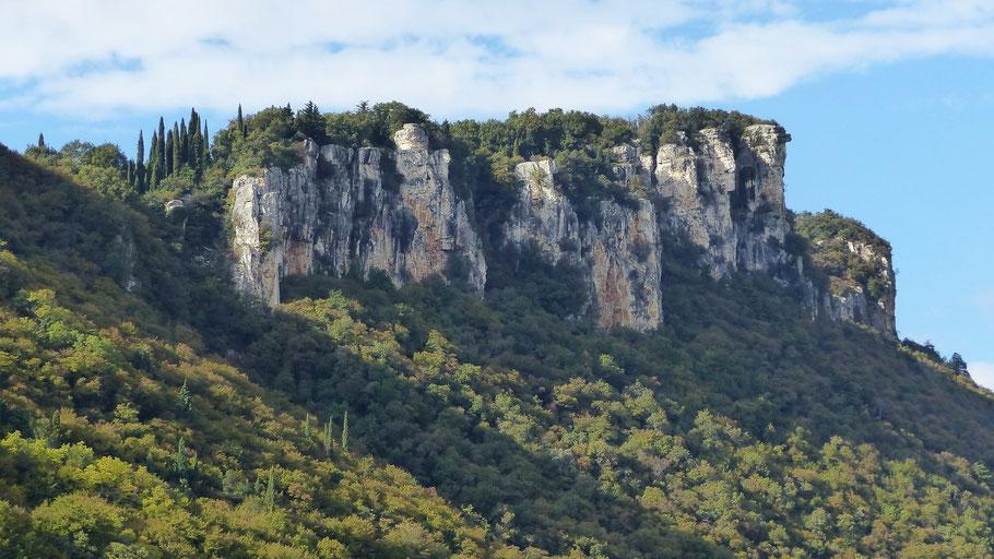 Monte Moscal von Ost - 427 M