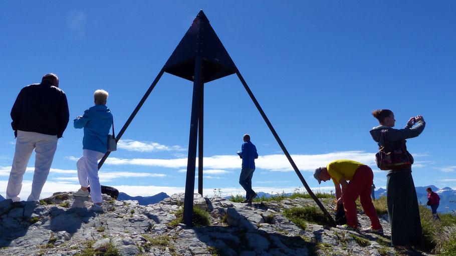 Am Gipfel des Le Moléson - 2002 M