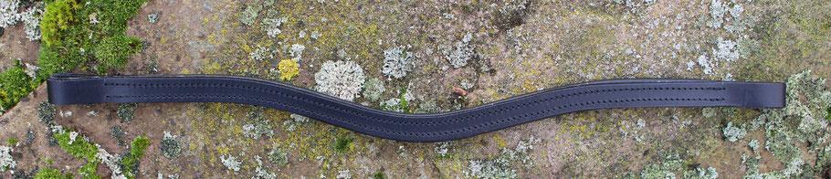 Slim Line Rohling für Stirnriemen Pferd und Pony