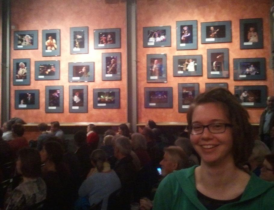 Mit Julia Geusch und vielen anderen tollen Musikern habe ich die Preisverleihung des Friedenssongcontests 2015 gefeiert. Super Stimmung in einer super Location!!!