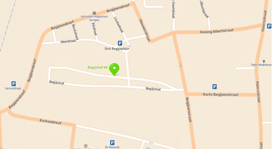 De Bleekweide Kempen - Contact - Begijnhof 66 - Turnhout