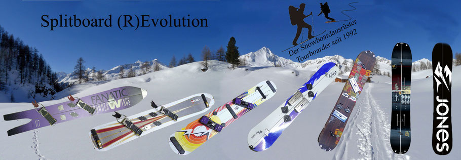 Splitboard Evolution